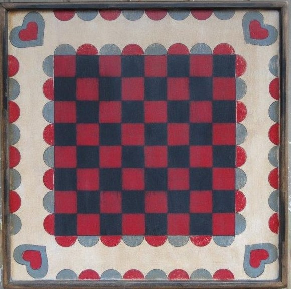 Forget Me Not Checker Board