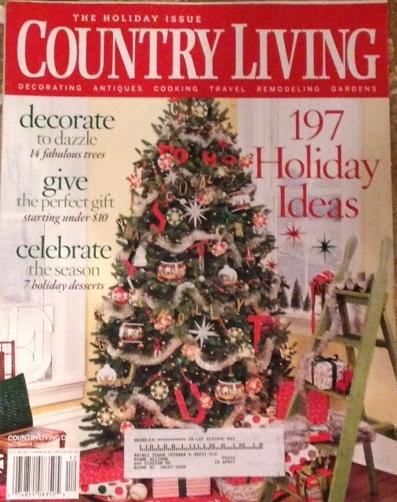 Country Living Magazine December.JPG