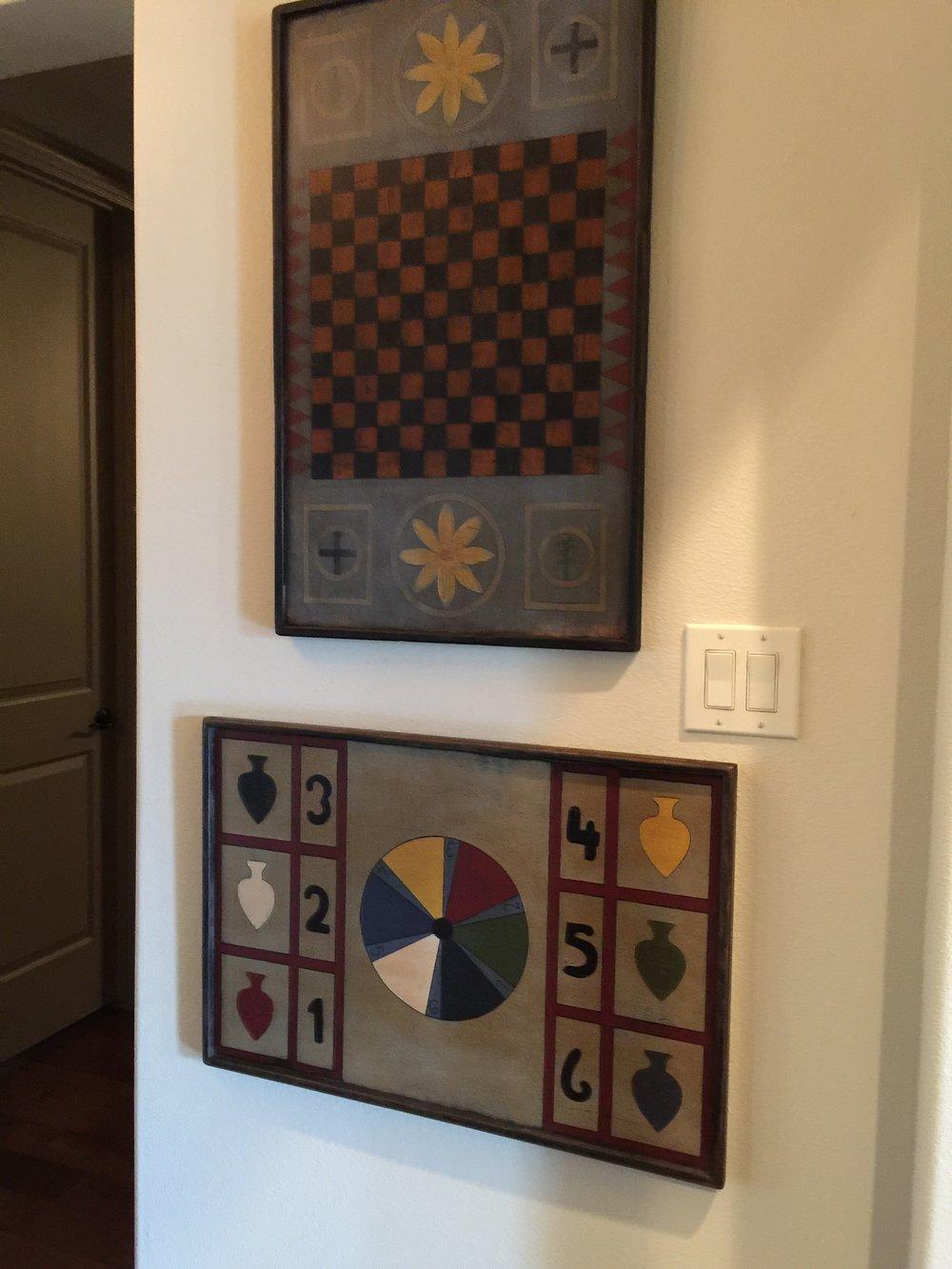 Game Board Wall Display