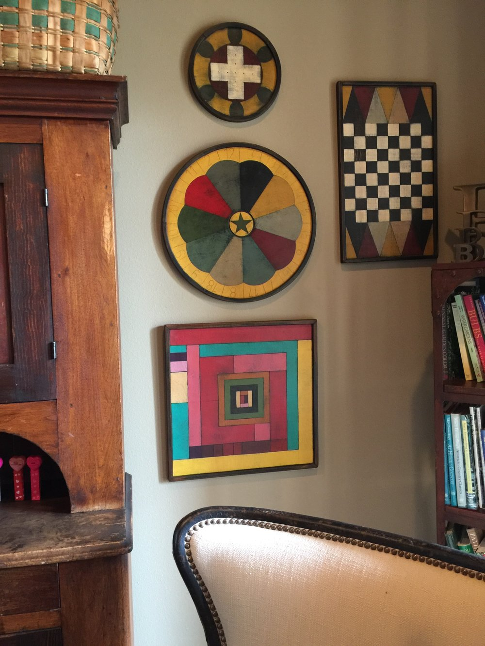 Game Board Grouping Decor