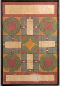 Ruth Parcheesi Game Board