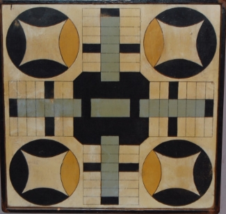 Home Sweet Home Parcheesi Game Board