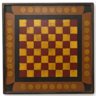 Circus Checker Board