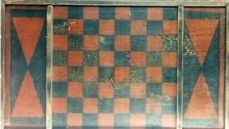 small red Checker Board