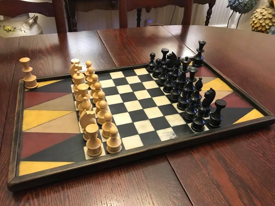 Joker Checker Board