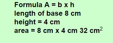 rectangle formula