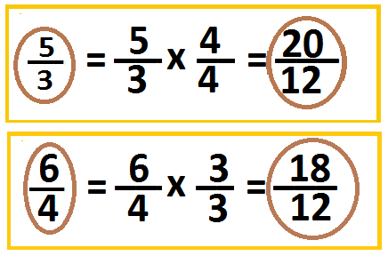 adding improper fractions with unlike denominators