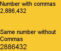 commas in math example