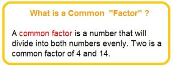 common factor