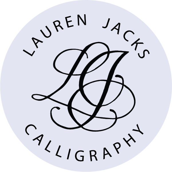 Lauren Jacks Calligraphy