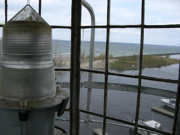 Lighthouse bird cage