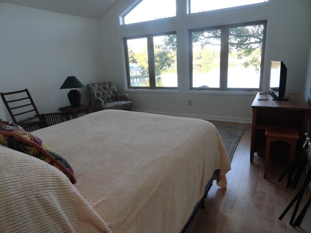 East cottage bedroom