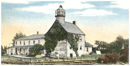 Old picture of light house