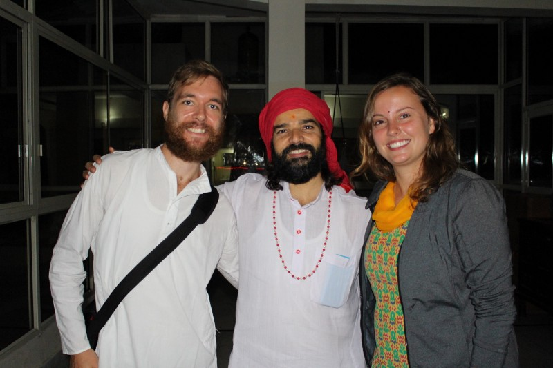 First Yoga and Meditation experiences with our Yogi in Rishikesh, India