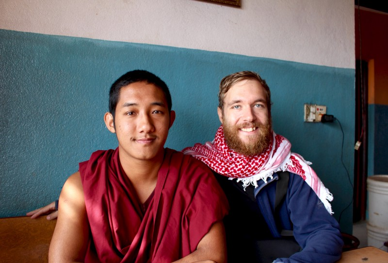 2-hour long chat with a doctor monk I had randomly met while having coffee in Nepal. Turns out he likes to play video games, soccer/football, and yeah, scroll on Facebook!