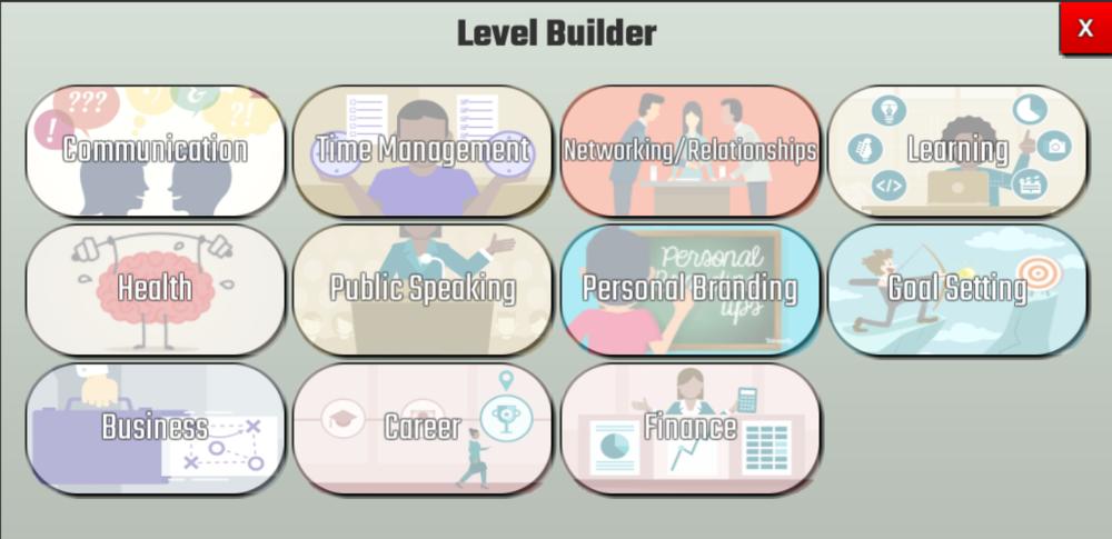 SkillUp prototype Creator View