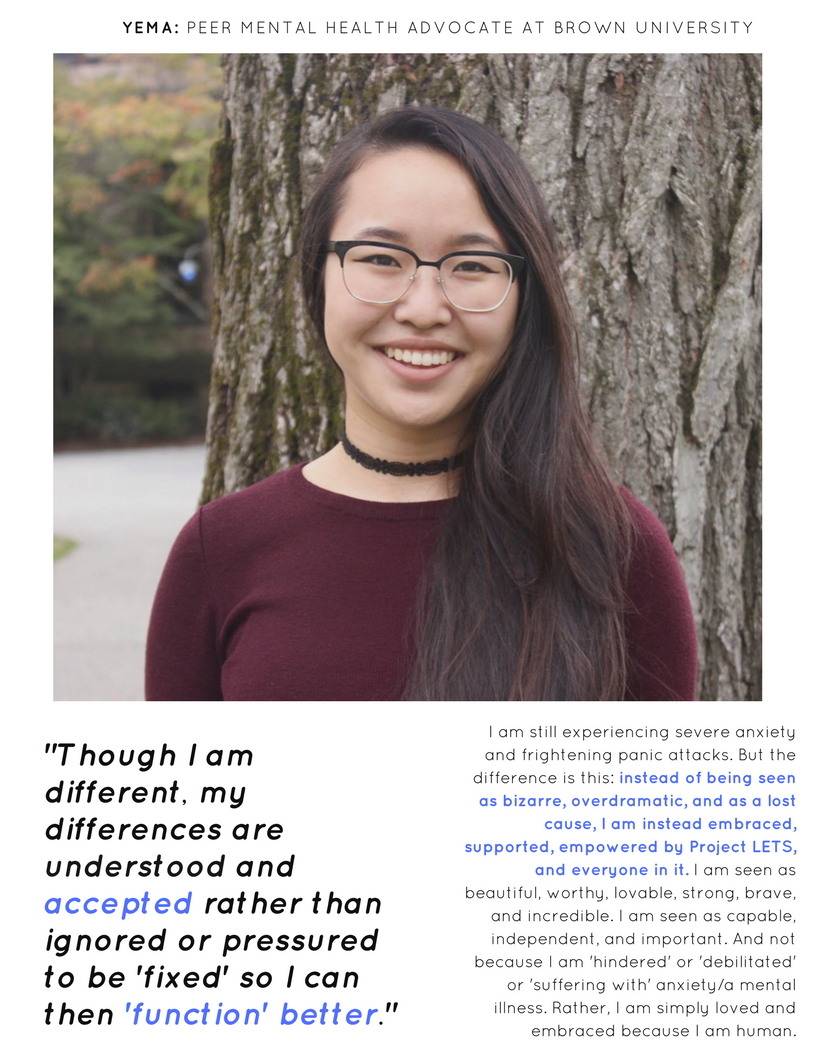 Project LETS: Brown University Student Voices -  Yema Yang