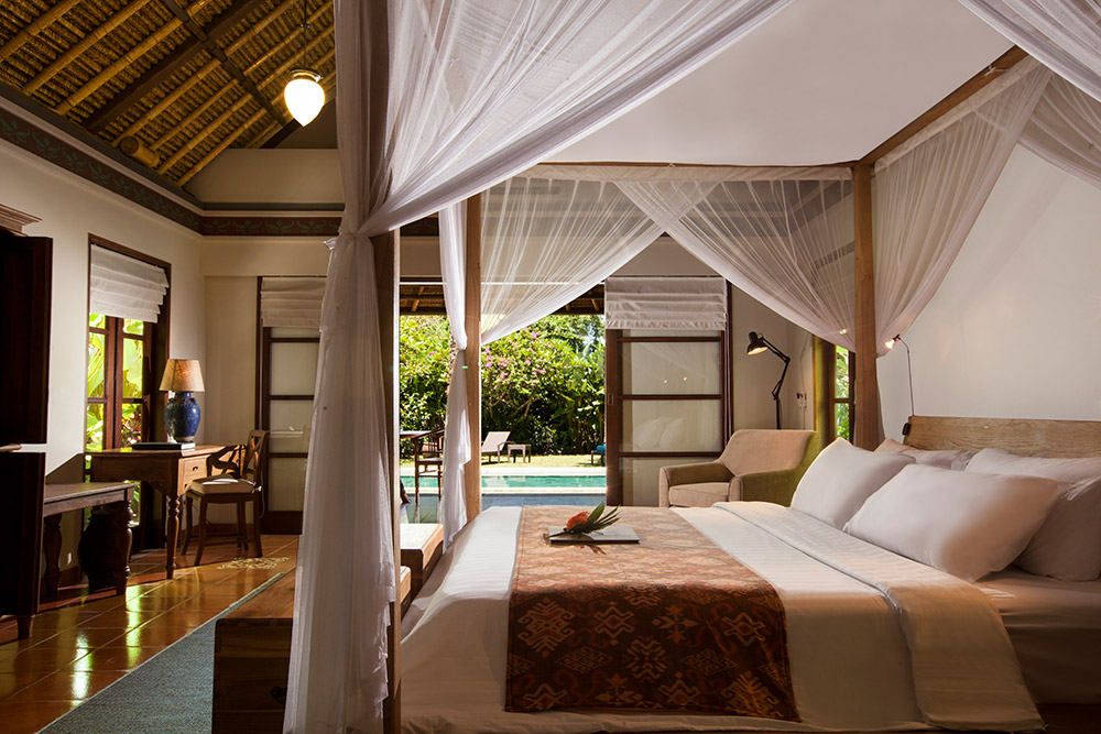 PACKAGE 3 - PRIVATE VILLA 1 PERSON  Features: Private Bath, Private Pool, Air Conditioning, King Bed, Terrace