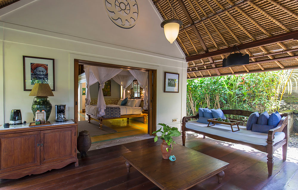 PACKAGE 2 - PRIVATE VILLA 2 PERSONS  Features: Private Bath, Private Pool, Air Conditioning, Twin or King Bed, Terrace