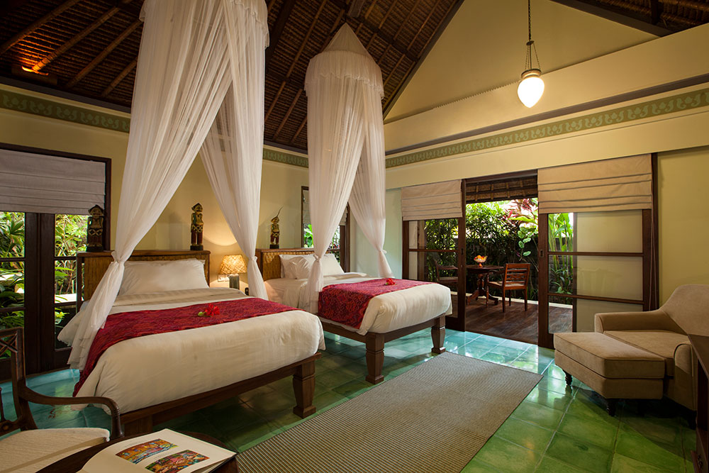 PACKAGE 1 - SHARED VILLA 1 PERSON  Features: Private Bath, Private Pool, Air Conditioning, Twin Bed, TV, Terrace