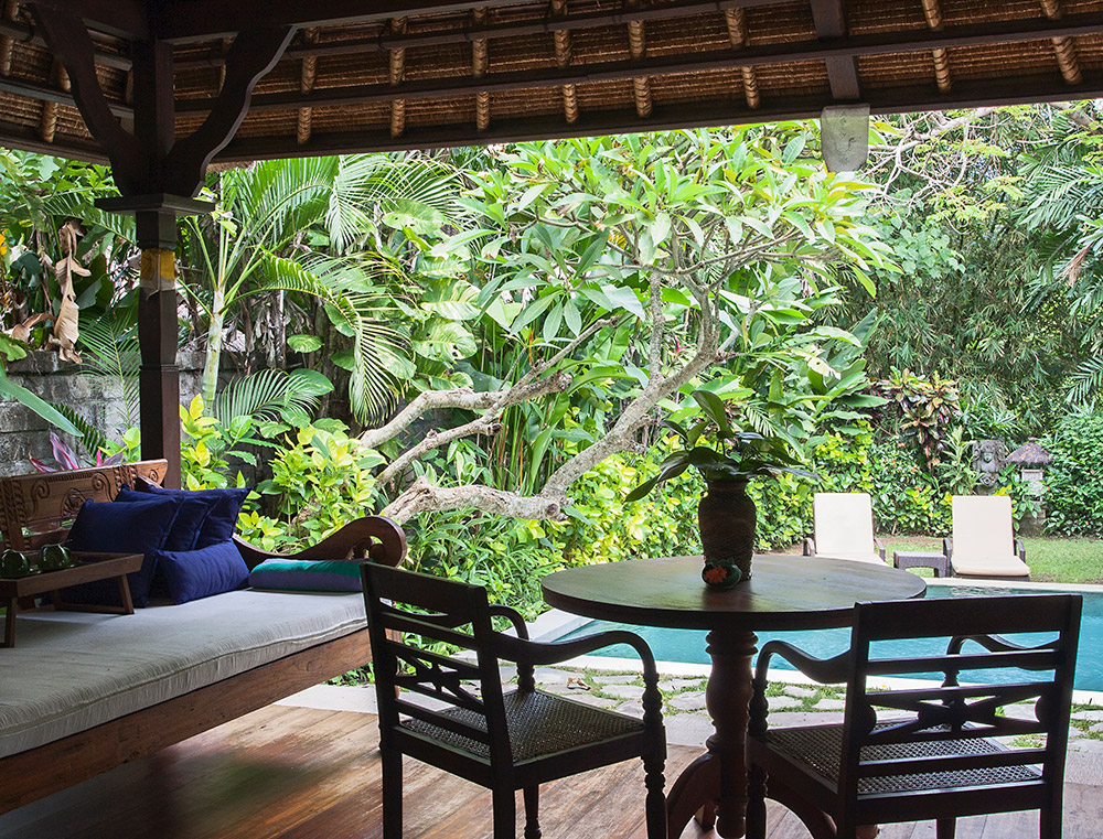 PACKAGE 2 - PRIVATE VILLA 2 PERSONS  Features: Private Bath, Private Pool, Air Conditioning, Twin Bed, TV, Terrace