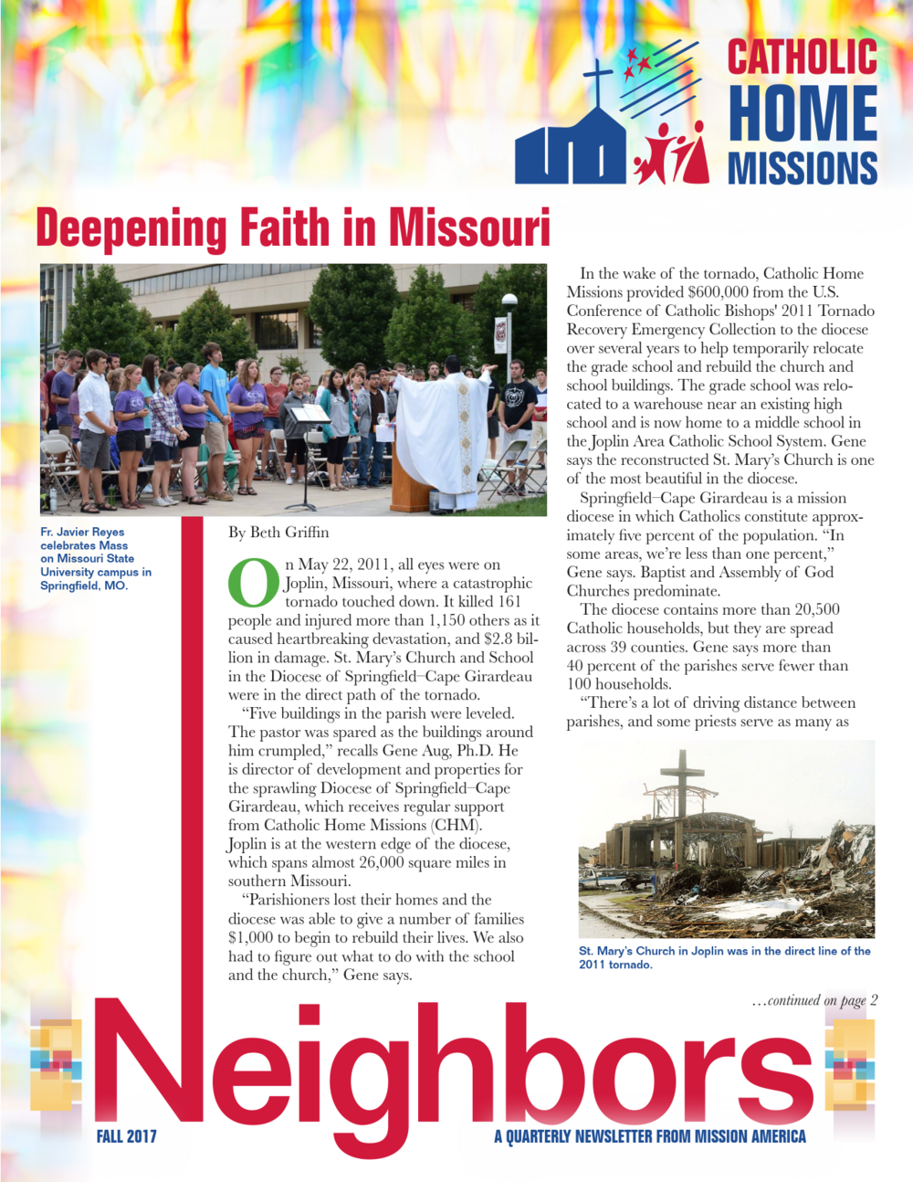 Newsletter: Catholic Home Missions