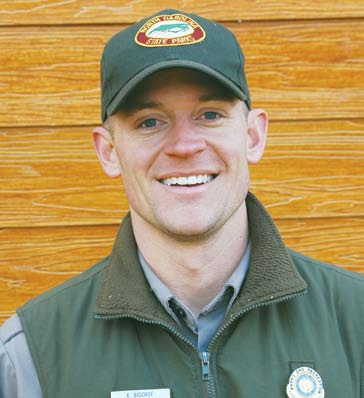 Kevin Bischof, Lake James State Park Ranger