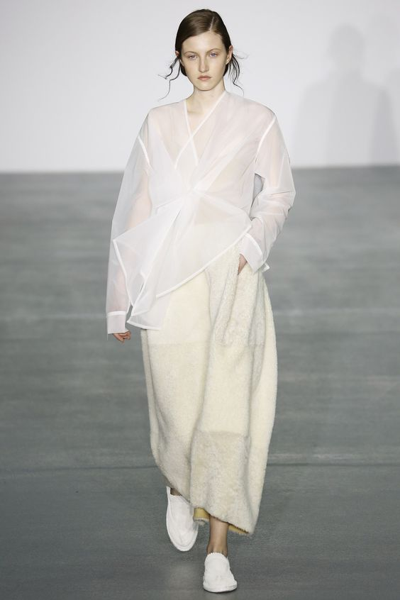 Organdy, organza and tulle are the sheer fabrics of your literal dreams - And you can wear them