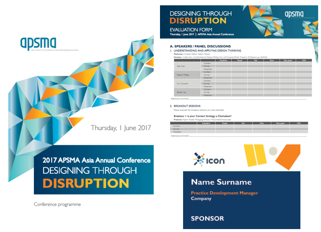 2017 APSMA ASia Annual conference - CONFERENCE THEME DESIGN