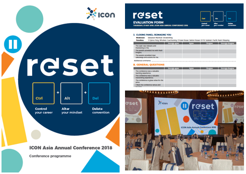 ICOn ASia annual conference 2018 - CONFERENCE THEME DESIGN
