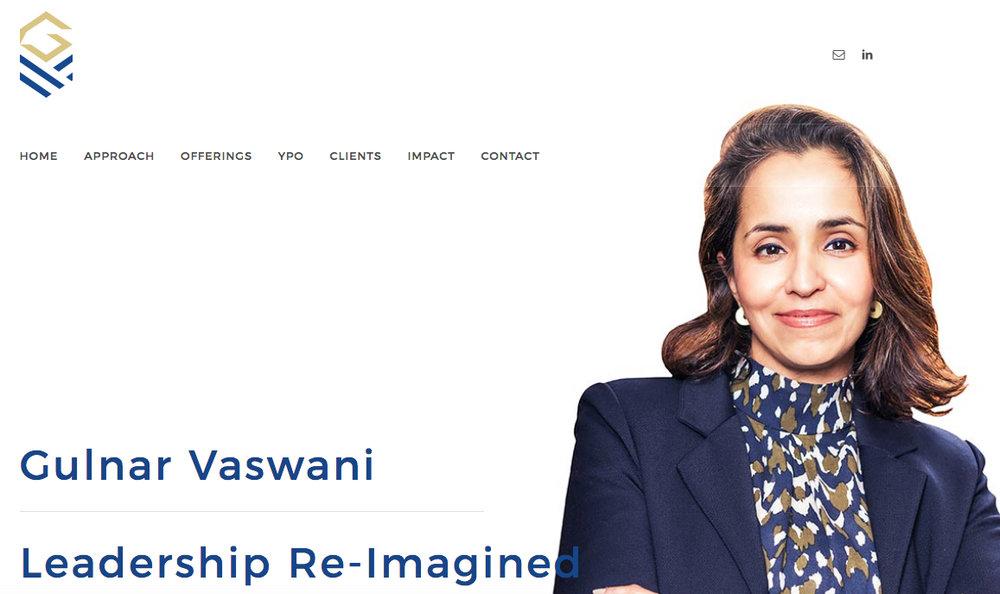 gulnar vaswani - COMPLETE REBRANDWEBSITE