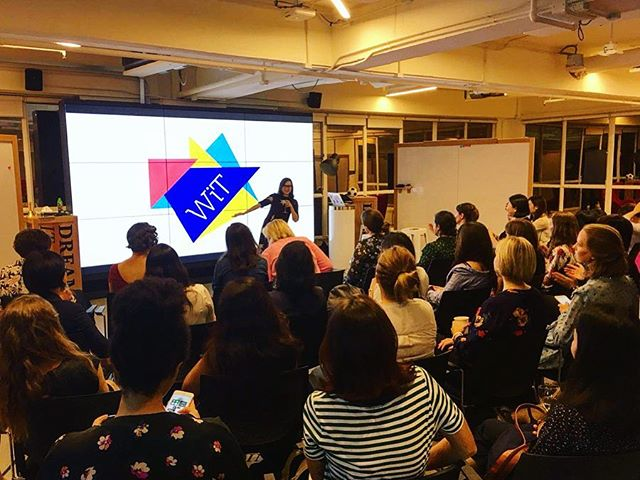 Full house today at the Women in Tech Hong Kong website and brand reveal. It was exciting to create the branding and website and looking forward for our next steps! #womenintech