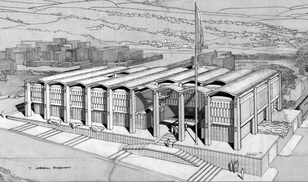 U.S. Jordanian Embassy Project - 1954