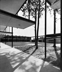 Riverview High School - 1957   Photo: Ezra Stoller