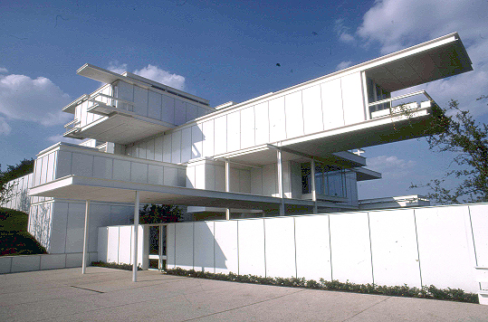 Bass Residence, 1970-1972   Photo: Paul Rudolph Heritage Foundation