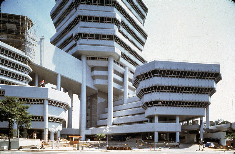The Concourse, 1981-1993   Photo: Paul Rudolph Heritage Foundation