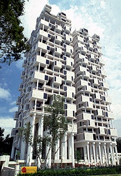 The Colonnade Condominium, 1980-1987   Photo: Paul Rudolph Heritage Foundation