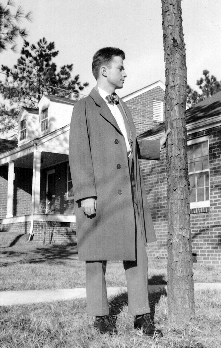 Paul Rudolph as a teenager   Photo: Paul Rudolph Heritage Foundation