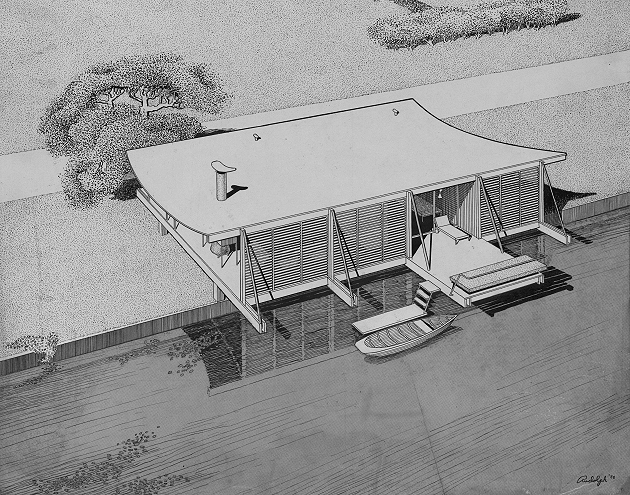 """Healy """"Cocoon"""" House, 1950"""
