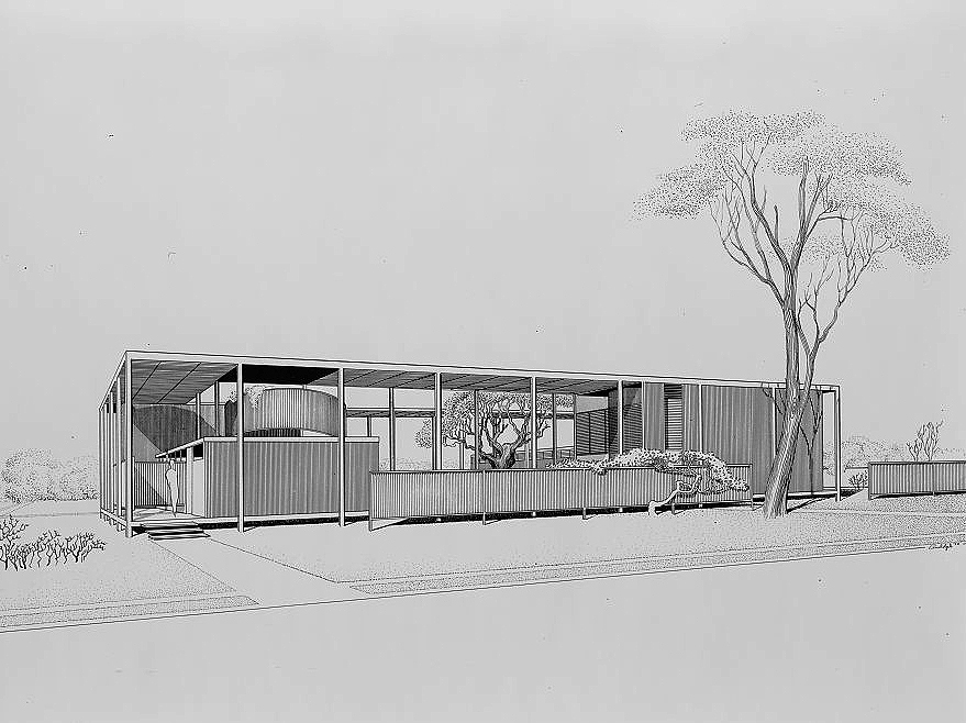 Haywood Apartments, 1952