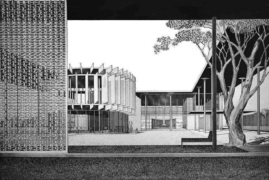 S.A.E. Fraternity House, 1952