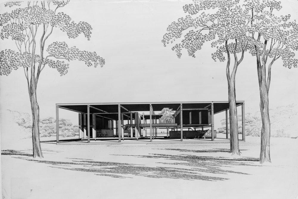 Burgess Residence, 1953