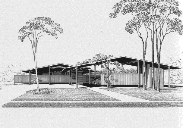 Bourne Company Residence, 1953