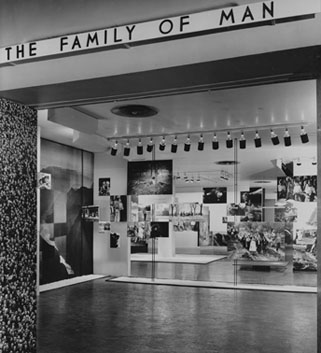 Family of Man Exhibit, 1954