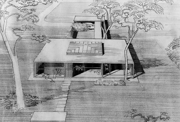 Taylor Residence, 1955