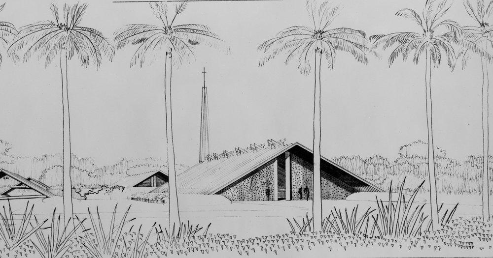 St. Boniface Church, 1956