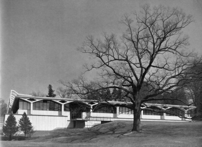 Greeley Memorial Lab, 1957