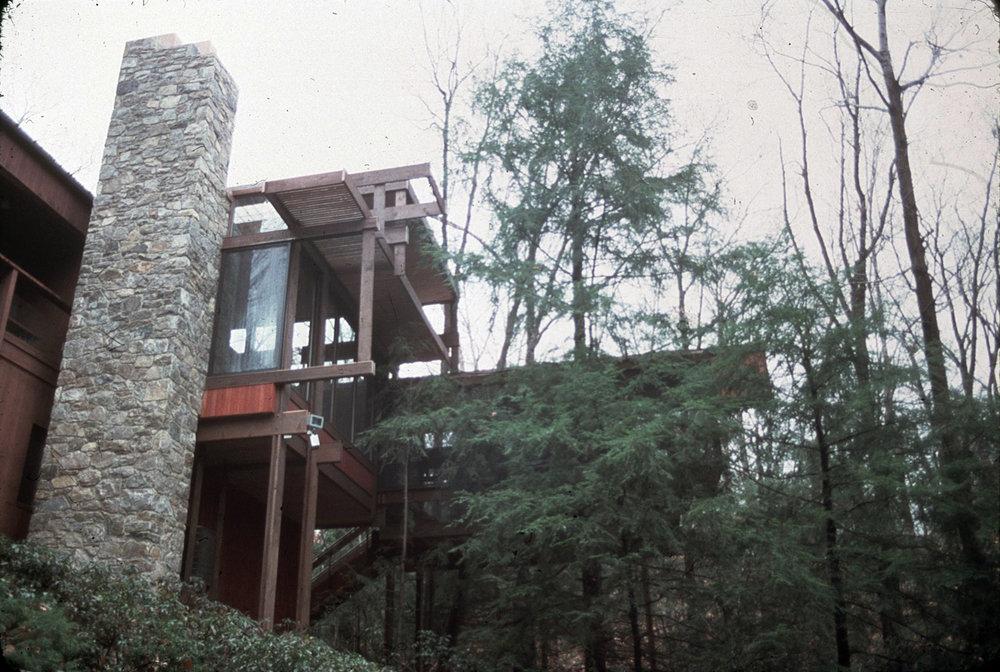 Bernhard Residence Addition, 1976