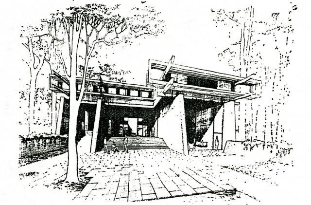 Pi Kappa Phi Fraternity House, 1960