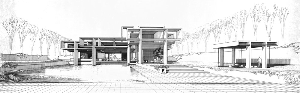 Bostwick Residence, 1962